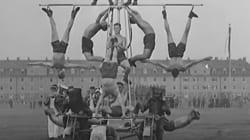 Έχετε αναρωτηθεί ποτέ πώς έμοιαζαν οι γυμναστικές επιδείξεις το 1934 στη