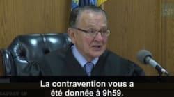 Le juge préféré d'Internet annule une amende injuste de manière