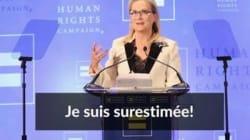 Meryl Streep répond enfin à Donald Trump dans un émouvant