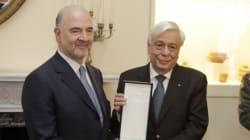 Παυλόπουλος: Kινδυνεύει η Eυρωζώνη με την Ελλάδα εκτός