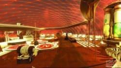 Voila comment les Emirats arabes unis voient leur ville sur Mars dans 100