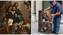 Un tableau du XVIIe siècle volé en Italie retrouvé à