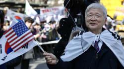 탄핵반대 집회 참가자들은 고영태의 '기획폭로' 수사를