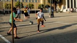 Τουρνουά ποδοσφαίρου στο Θησείο μεταξύ προσφύγων και