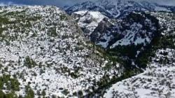 Η άλλη όψη της «Αριάδνης»: Καταγράφοντας τον χιονιά του Ιανουαρίου με