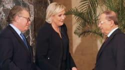 Λίβανος: Ο πρόεδρος Αούν έκανε δεκτή την υποψήφια της ακροδεξιάς στη Γαλλία Μαρίν