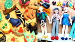Cette artisane fabrique ses poupées et porte-clés à partir de chiffons: Omek Tangou reprend