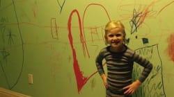31 photos d'enfants qui ont mis leur maison sens dessus