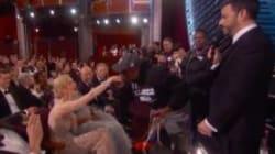 Des touristes débarquent au milieu des Oscars 2017 (et certains ne lèvent même pas les yeux de leur