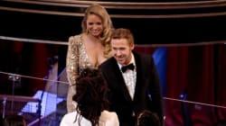 Ο Ryan Gosling εμφανίστηκε πάλι χωρίς την Eva Mendes, αλλά συνοδευόταν από μία