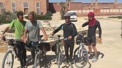 Alger - Tamanrasset à vélo: pari réussi