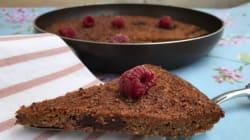 Λαχταριστό σοκολατένιο μπισκότο χωρίς ζάχαρη, στο