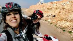 À la découverte de Safé et Mayssa, deux Tunisiennes qui ont traversé une partie du sud de la Tunisie à vélo