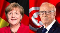 Merkel à Tunis pour raffermir la coopération, notamment sur