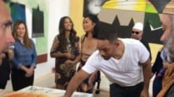 Will Smith à la rencontre des artistes à