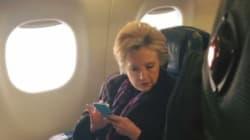 Cette photo de Hillary Clinton traduit parfaitement la cruelle ironie de l'élection