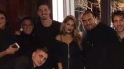 Quand Lalla Soukaina rencontre Ibrahimovic et les joueurs du PSG à