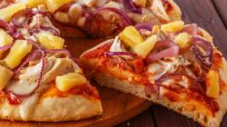 이 피자 가게는 파인애플 토핑이