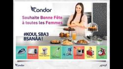 Condor souhaite une bonne fête aux femmes... dans la cuisine
