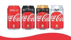 Η νέα εποχή της Coca-Cola έχει λιγότερη ζάχαρη αλλά πάντα υπέροχη