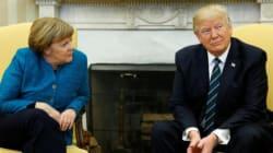 Donald Trump a-t-il ignoré l'offre de poignée de main de Angela