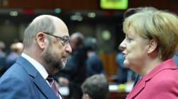 Σουλτς εναντίον Μέρκελ: Ο Σοσιαλδημοκράτης αρχίζει την εκστρατεία «εκθρόνισης», ενώ το CDU διατηρεί οριακό