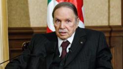 Bouteflika appelle les Algériens à faire