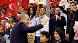 Erdogan accuse Merkel d'avoir recours à des