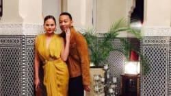 John Legend passe des vacances en famille à