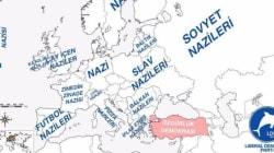 Έτσι μας βλέπουν οι Τούρκοι; Ένας χάρτης με προσβλητικά τουρκικά στερεότυπα για τους λαούς της