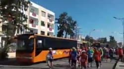 A Blida, un semi-marathon interrompu pour les