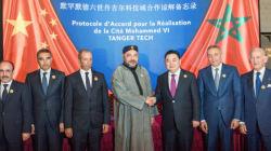 La cité industrielle chinoise inaugurée par le roi à Tanger créera 100.000