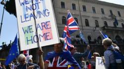 Des milliers de manifestants à Londres contre le Brexit, le jour des 60 ans du Traité de
