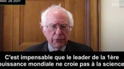 Bernie Sanders horrifié par la décision anti-environnement de Donald