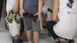 Το «Μαζί για το Παιδί» μοιράζει καινούρια παπούτσια σε άπορα παιδιά από την Θράκη έως την