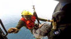 Βίντεο: Μεταφορά ασθενούς από πλοίο εν πλω, με ελικόπτερο του Πολεμικού