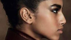 Le mannequin d'origine marocaine Imaan Hammam en couverture de Vogue