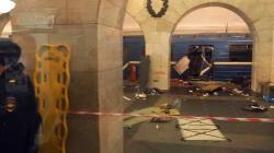 Επίθεση στο μετρό της Αγίας