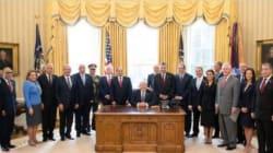 Pourquoi cette photo d'Abdelfattah Al Sissi et de Donald Trump fait-elle tant parler en