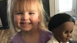 Mία ταμίας είπε σε αυτή τη μικρή να επιλέξει μία άλλη κούκλα. Η απάντηση της 2χρονης ήταν απλά