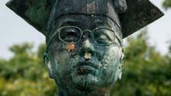 '친일' 김활란 동상에 대한 이대 학생들의