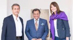 Le couple Sarkozy à Rabat pour découvrir