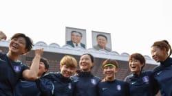 한국 여자축구가 오늘 북한과