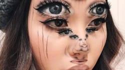 Cette artiste maquilleuse va vous retourner la tête avec ces illusions d'optique