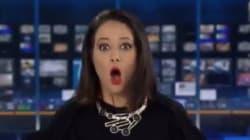 H γκάφα παρουσιάστριας ειδήσεων και η καθόλου ψύχραιμη αντίδρασή
