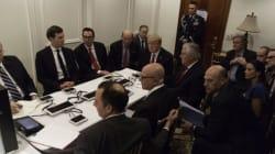 La photo de l'administration de Donald Trump pendant l'intervention américaine en Syrie en rappelle une
