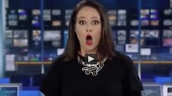 Cette journaliste a été interdite d'antenne après sa bourde en