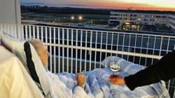 Ένα τσιγάρο και ένα ποτήρι κρασί: Η τελευταία επιθυμία ενός ετοιμοθάνατου γίνεται viral στα social