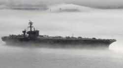 Η Ιαπωνία παρατάσσει πολεμικά πλοία δίπλα στο αμερικανικό USS Carl Vinson, πλησίον της Β.