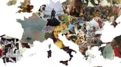 Ο πιο όμορφος χάρτης της Ευρώπης με τα 44 πιο εμβληματικά έργα τέχνης της κάθε
